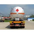 12.6m Tri-axle Liquefied Gas Transport Semi Trailer