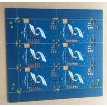 4 layer 1.4mm 1OZ blue soldr ENIG PCB