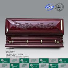 Caixão de estilo impressionante europeu venda quente