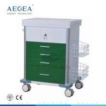 Компания AG-GS008 новый дизайн медсестра, лечение для клинической непредвиденная вагонетка пациента