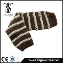 Femmes hiver Gants en tricot demi-doigts