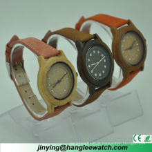 OEM Sandalwood Relógios Strap Watch Ladies Watch