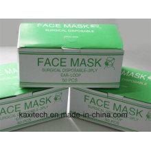 Máscara facial não tecida descartável