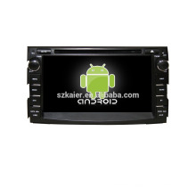 Quad core!car dvd with mirror link/DVR/TPMS/OBD2 for 7inch touch screen quad core 4.4 Android system CEED