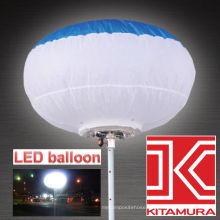 Reliable, bright and efficient for night work KLE-100 Led balloon floodlight. Manufactured by Kitamura Industry. Made in Japan
