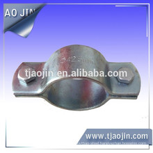 Suspension clamp,heavy duty steel clamps with rubber cushion