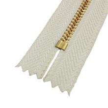 # 5 Schließen End Metall Zipper für Kleidungsstück