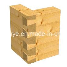 Décoration en bois Matériau de construction