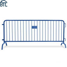 Hot-Dipped Galvanized After Welding or Powder Coating Event Fencing Steel Pedestrian Barriers