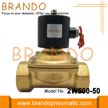DN50 2 Inci Brass Electromagnetic Water Valve