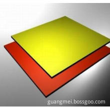 Aluminum composite board for wall decoration