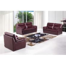 Canapé en cuir de chaise en cuir véritable Canapé inclinable électrique (742)