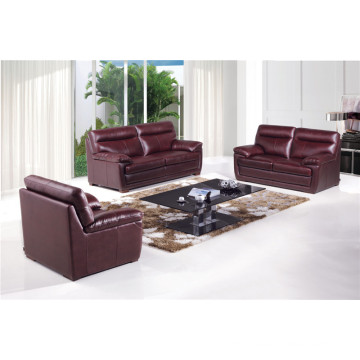 Genuine Leather Chaise Leather Sofa Electric Recliner Sofa (742)