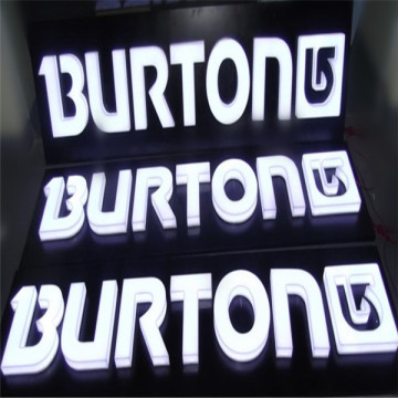 Utomhus LED Embedded Acrylic Letters Signs
