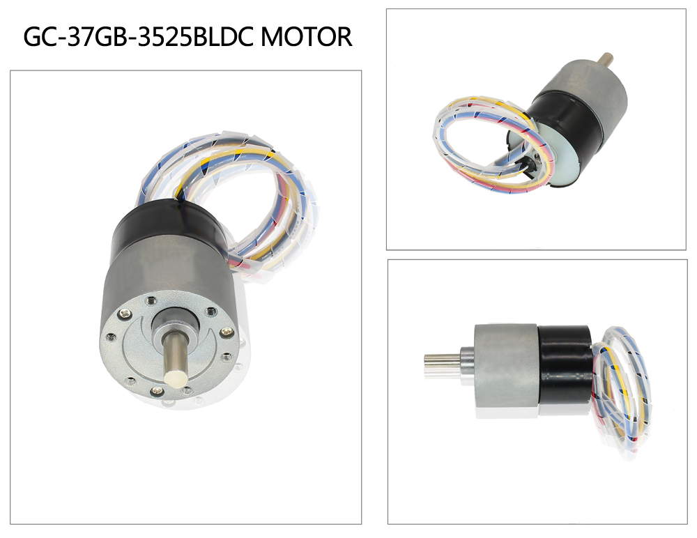 24v brushless gear motor