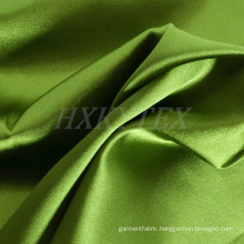 High Elastic Polyester Stain Fabric with Bright for Fashion