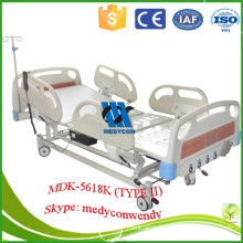 five functions ICU adjustable bed with motor