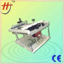T de precisão de seda tela máquina manual de impressão da caneca para 1 cor