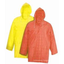 outdoor all color pvc raincoat