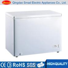 Congelador profundo da caixa branca da única porta 200L
