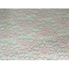 Nylon Span Jacquard Lace Fabric