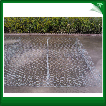 pvc coated gabion box stone wall mesh cage