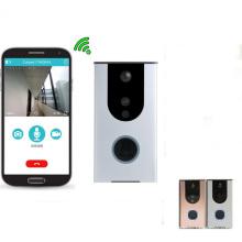 anneau wifi vidéo sonnette porte téléphone pro avec batterie pir mouvement alarme smart APP
