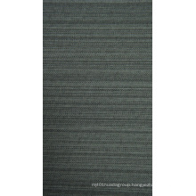 Cationic Polyester Fabric Black Stripe with PVC Coating
