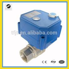 Válvula de actuador CWX-25S DN32 con 24VDC y 220VAC con función de anulación manual para equipos pequeños para control automático