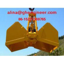 Electro Hidráulico Clamshell Grab correspondência com Crane