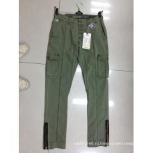 Осенние мужские брюки из высококачественного хлопка