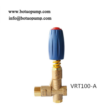 Unloader valve with by-pass VRT