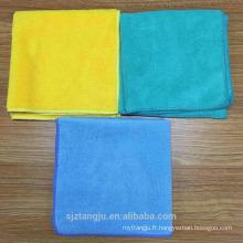 Serviette de séchage de voiture de serviette de séchage de microfibre de 300GSM Tangju