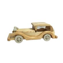 FQ marca alta emulational casa decoração modelo brinquedo carro de madeira