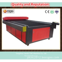 China High Precision Laser Cutting Bed Under Red Color