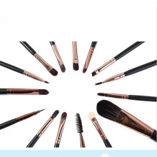 Professional 15PCS Makeup Brushes Set for Eyeshadow Eyeliner Eyebrow