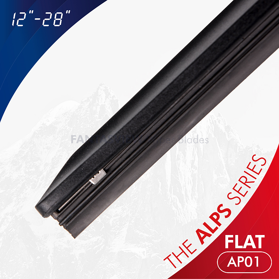 The Alps Series Retro-Fit Flex Wiper Blades