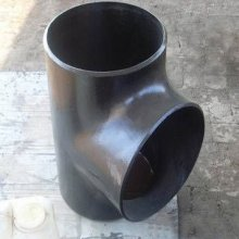 carbon steel straight reducing pipe tee