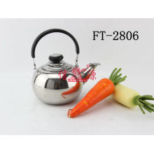 Stainless Steel Round Handle Teapot (FT-2806-XY)