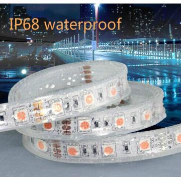 IP67 Silicona SMD5050 / 5630 60LED 10mm Aluminio LED Strip