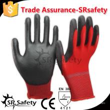SRSAFTY 13 калибра безопасности с нейлоновым покрытием из нитрила на ладонных защитных рабочих перчатках