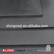 Черный экологически чистый резиновый лист общего назначения