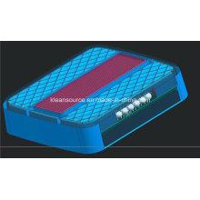 Luz cuadrada de múltiples funciones del carro del LED