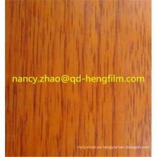 Excelente película de PVC Flatness para la decoración de alto grado