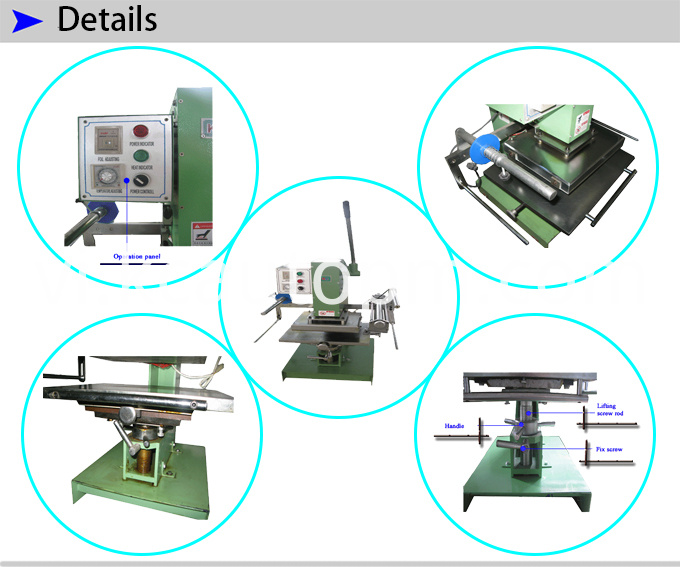 Large Table Hot Foil Stamping Machine