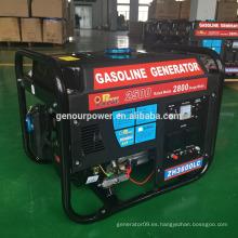 Generador chino generador eléctrico 2.5kw generador eléctrico