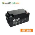 Bluesun-Tiefzyklusbatterie 12v 65ah 150ah 200ah Solar-Gel-Batterie für Telekommunikationsturm