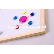 Botão magnético do quadro branco, botão magnético de plástico