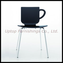 Cup Shape Plastic Bar and Restaurant Plastic Chair (SP-UC387)