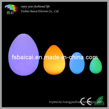 PE Glowing Decoration Egg and Ball